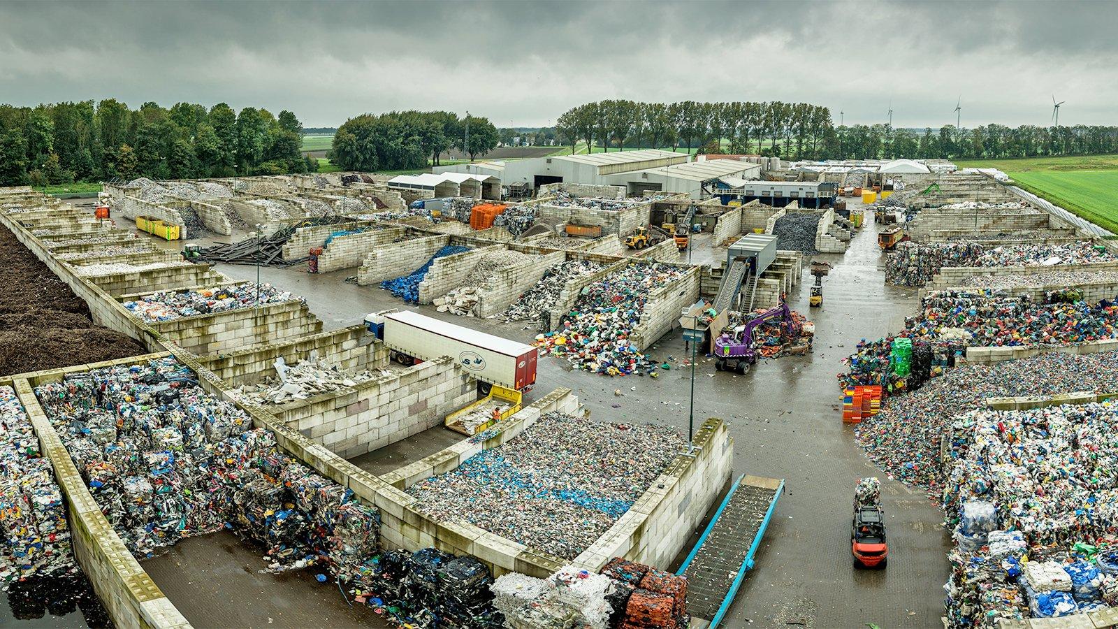 Die Kunststoffe, die wir recyceln